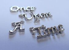 Quote Charms Connectors Quote Links Word Links ONCE UPON A TIME Fairy tale Charm