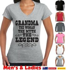 Funny T-Shirts Grandma Legend Mother's Day gift Ladies size birthday nan Nanna