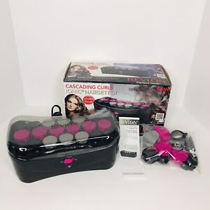 Revlon Cascading Curls Ionic HairSetter 20 Fast Perfect Heat Up Rollers RVHS6611