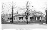 Port Allegheny Pennsylvania 1930s Postcard Moose Club House