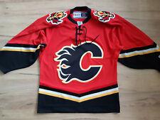 CALGARY FLAMES! CCM! shirt trikot maglia camiseta jersey! NHL! 6/6 ! S - adult#