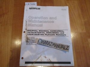 CATERPILLAR H45/50/63/70/100 S H90C/CS Operation & Maintenance Manual