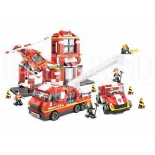 Sluban Firefighter Mass Dispatch Centre Building Bricks Set (727 Pieces)