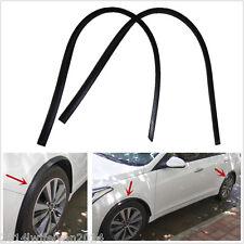 "2x46""Carbon Fiber Car Truck Wheel Eyebrow Arch Trim Lips Fender Flares Protector"