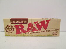 Raw Organic 1 1/4 Cigarette Rolling Papers 5 Packs