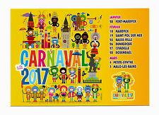 CP Moderne CARNAVAL DE DUNKERQUE 2017 _ Ma tante Charlotte! Dates bals et bandes