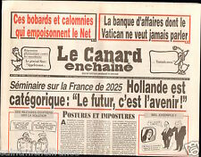 CANARD ENCHAINÉ Birthday Newspaper JOURNAL NAISSANCE 21 AOUT AUGUST 2013