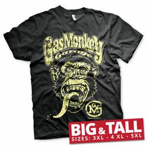 Official Licensed Gas Monkey Garage GMG Big Brand Logo Men's 3xl,4xl,5xl T-Shirt