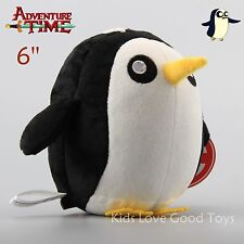 Adventure Time Gunter The Penguin Plush Toy Kids Stuffed Doll 6'' Teddy Cute