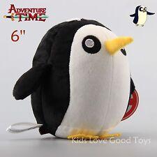 Adventure Time Gunter The Penguin Plush Toy Kids Stuffed Doll 6'' Teddy Cute