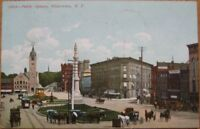 1908 NY Postcard: 'Public Square - Watertown, New York'