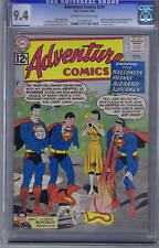 Adventure Comics #294 DC 1962 CGC 9.4 Marilyn Monroe,President Kennedy