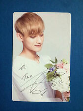 EXO K M Nature Republic Official Photocard Photo Card - Tao (New Version)