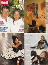 Paris Match Guesch Patti,Vanessa Paradis,Mylene Farmer,Elsa,Patricia Kaas