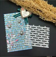 Building brick Metal Cutting Dies DIY Scrapbooking album Decorative Embossing