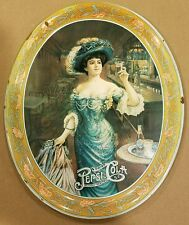 Vintage PEPSI-COLA Delicious Healthful Drink Gibson Girl Pepsi Serving Tray