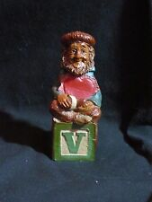 retired-Alphabet V-Valentine-Dr. Thomas F. Clark Gnome-Cairn part #5252