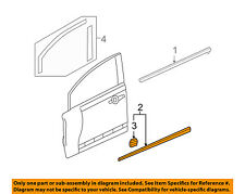 HONDA OEM 06-08 Civic FRONT DOOR-Body Side Molding Right 75302SNAA01ZK