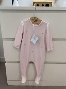 Emile Et Rose 3m Baby Girl Sleep Suit