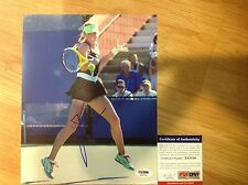 Victoria Azarenka Signed 8x10 Photo PSA DNA COA Autographed d
