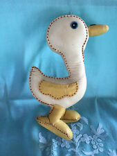 Vintage Unique Adorable Homemade Stuffed Easter Duck