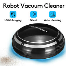 Automatic Rechargeable Smart Robot Vacuum Cleaner Suction Sweeper Edge Clean !
