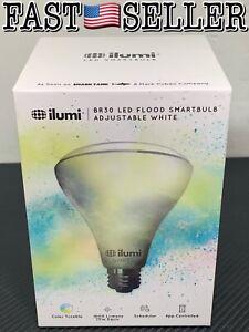 Ilumi White BR30 APP Tunable Color LED Flood Smartbulb 75W 1000 Lumens - SEALED!