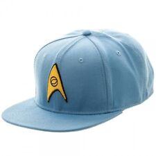 size 40 2c858 4ebe0 Star Trek Science Logo Sci-fi Show Spock OSFM Blue Cap Snapback Hat  Sb3bsjsta