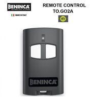 BENINCA 2 BUTTON ARC 128 GARAGE DOOR GATE REMOTE CLICKER CONTROL TO.GO 2 A