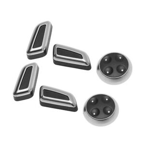 Seat Adjustment Switch Control Button Cover Trim Decor Kit for Audi Q5 Q7 A4 A5