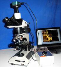 Olympus Bh2 Bht Ma2 Bf Df Metallurgical Bright Field Dark Field 5mp Camera