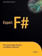 Expert F# (Expert's Voice in .NET) by Cisternino, Antonio HARDBACK Book The