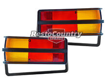 Holden Torana Black Taillight Lens PAIR LEFT + RIGHT LH LX SLR/5000 brake light
