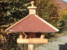 Mangeoire Nichoir Grande Villa / à Oiseaux à Bitume Distributeur de Fourrage