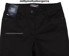 Neues AngebotNEU Damen Marks & Spencer Schwarz Sculpt SlimBoot Jeans Größe 20 Medium Mängel