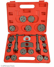 21 PC Piece Brake Caliper Piston Rewind Wind Back Tool Kit Car Service Tool Set