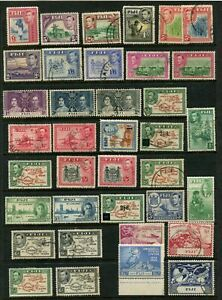 FIJI -  KGVI 'CLEARANCE LOT' 1 Page Mint/Used [B3471]