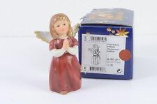 Goebel Engel betend - bordeaux ca. 12cm mit Schachtel Figur guter Zustand