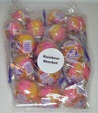 Set of 15 Linda's Lollies Rainbow Sherbet lollipops