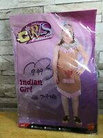 INDIAN GIRL SMIFFYS FANCY DRESS COSTUME AGE 10 - 12 YEARS BRAND NEW IN PACKET