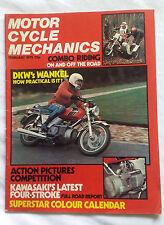 Motorcycle Mechanics MCM : February 75 : DKW Wankel