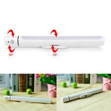 LED Nacht-Licht mit Bewegungsmelder Batterie kaltweiß Unterbau-Leuchte Lampe Neu
