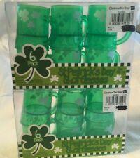 St. Patrick's Day 2-6 Pk Plastic Shot Glasses 34484 .95 fl oz