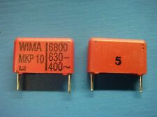 (50) WIMA MKP10 6800/630/5 6800pF 630V 5% 15mm POLYPROPYLENE FILM CAPACITOR