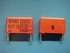 (50) WIMA MKP10 6800/630/5 6800pF 630V 5% 15mm POLYPROPYLENE FILM CAPACITOR
