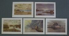 Set of five prints by Kenneth Harris