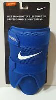 3 Nike BPG 40 Batters Leg Guard Adult 2.0 New in Package One Size BLUE
