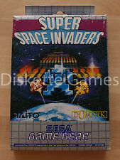 SUPER SPACE INVADERS - SEGA GAMEGEAR GG GAME GEAR - PAL ESPAÑA