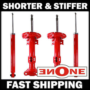 MK1 Stiffer Shorter Shocks Struts For Lowered 08-14 Mercedes-Benz C250 C300 W204