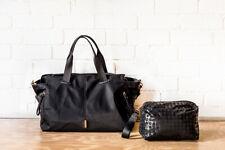 MIMCO ZEN GYM BAG BLACK ROSE GOLD HANDBAG New with Tags RRP $299
